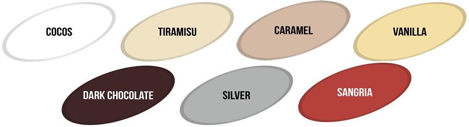 Nuante OSKAR DIRECT PE MELAMINAT & PLASTIC